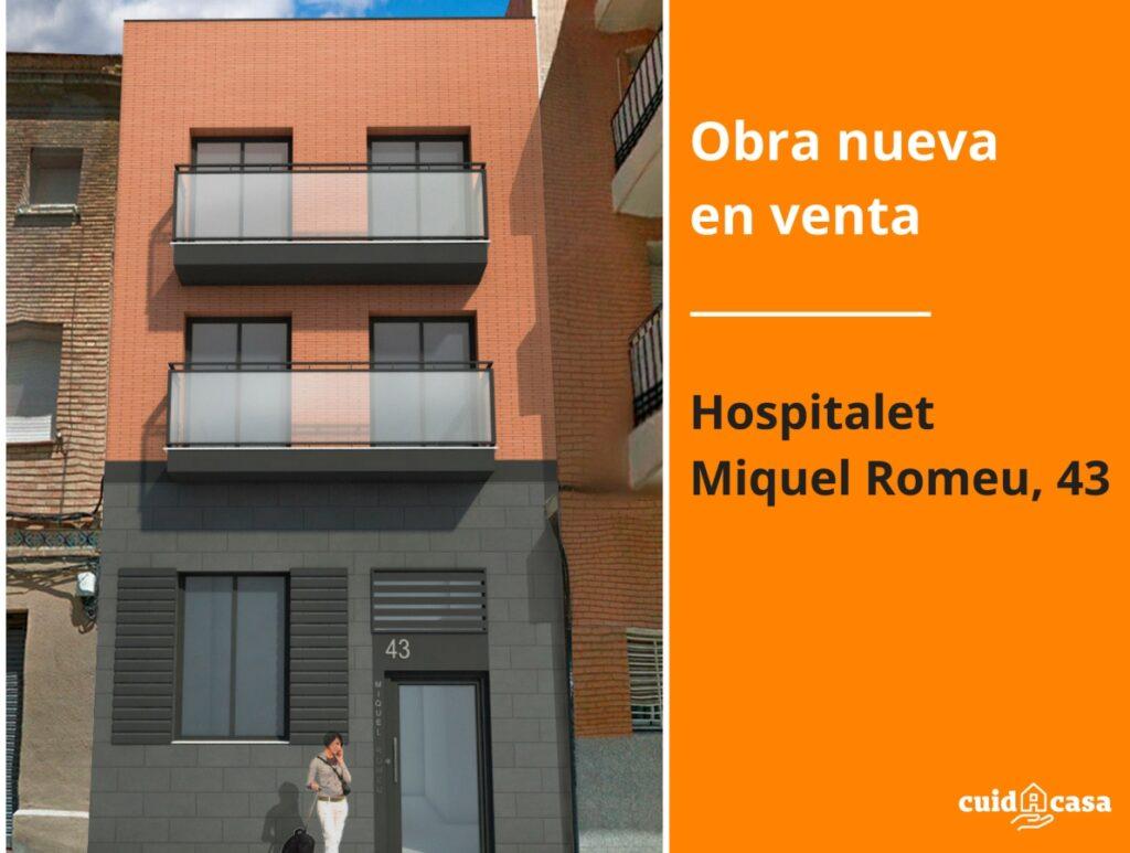 obra nueva en venta hospitalet